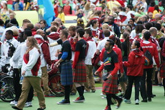Glasgow 2014 Closing Ceremony, Hampden Stadium - preparations (Secondcity) Tags: england glasgow preparations closingceremony teamengland glasgow2014 hampdenstadium xxcommonwealthgames