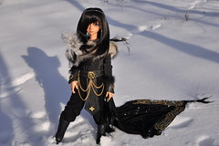 Winter is here (Mista-Oro) Tags: boy black gold handmade tan mo tanned msd dollzone