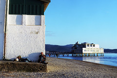 Follonica on Sunday (nOttico) Tags: tlr beach analog seaside december tuscany fujifilm yashica laziness yashicaflex fujicolor twinlens 400h follonica yashimar