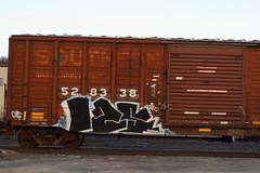 125 (BombTrains) Tags: road railroad art train bench graffiti paint tag graf rail spray southern graff freight 125 fr8 benching 528338