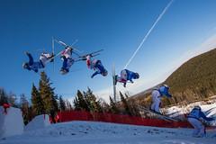 Valrie Gilbert (chrisleboe) Tags: skiing flip gilbert skier valrie canadagames dualmoguls valriegilbert