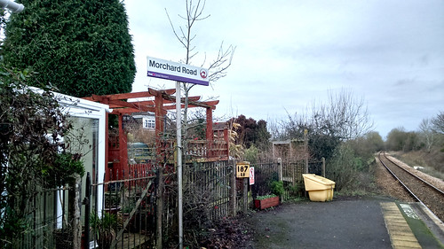 Morchard Road station
