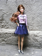 Chloe ! (blakmoon) Tags: fashion model barbie muse pack collector dreamhouse barbiemodelmuse