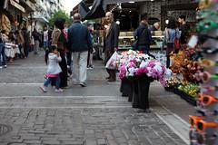 flowers (tolisk9) Tags: street flowers people thessaloniki