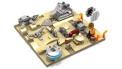 Jakku maze 5 (Oky - Space Ranger) Tags: rebel star garbage fighter order force desert lego crashed transport tie first millennium special destroyer falcon planet imperial maze xwing wars junkyard wreck ideas atat forces troop resistance outpost awakens microscale bb8 jakku