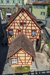 Meersburg Watermill (Igor Sorokin) Tags: street city travel architecture buildings germany lens town nikon europe zoom scenic telephoto 1855 nikkor dslr sunlit watermill badenwrttemberg meersburg d40
