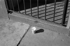 BARS (beccachairin) Tags: blackandwhite bw slr cup 35mm pentax kodak trix cups drinks analogue 50mmlens