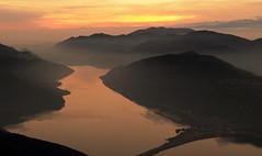 Evening light.... (Alex Switzerland) Tags: winter sunset colors canon landscape eos schweiz switzerland ticino tramonto inverno lugano paesaggio 6d luganese ceresio
