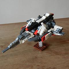 DSCN6654 (alfa145q_lego) Tags: lego legocreator vehicletransporter 31033 alternate futureflyers 31034 mecha rebuild
