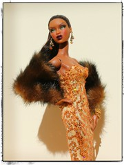 Gold Strike a Pose! IMG_4778 (vinvisible11) Tags: gold gown hybrid sequin fauxfur fr2 fashionroyalty adelemakeda goldstroke picmonkey fr2013
