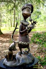 _DSC1713 The Grinch (Charles Bonham) Tags: sculpture gardens bronze grinch drseuss thegrinch bronzesculpture maxthedog childrensstories thegrinchwhostolechristmas drseusscharacters dowgardensmidlandmi charlesbonhamphotography