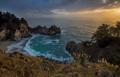 Pfeiffer Beach, California (Andrew Scott Bauer) Tags: ocean california sunset sky beach water clouds canon coast wideangle 1022mm pfeiffer
