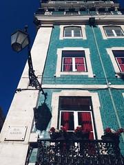 Rua Augusta (noticiasfchcatolica) Tags: rua augusta prdio candeeiro lisboa azulejo