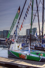 TransAt Yachts 30th April 2016 #12 (JDurston2009) Tags: green sailing harbour yacht plymouth barbican devon 144 sailingboat suttonharbour transat transatbakerly