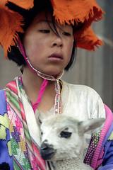 Peru : Cuzco, Native Indian #2 (foto_morgana) Tags: portrait people peru southamerica cuzco outdoor character traditional lama ethnic portret nikoncoolscan analogphotography ethnicity traditionalculture minorities etnia traditionnel persoonlijkheid karakter analogefotografie vuescan traditioneel nomodelrelease ethnie caractre minderheden travelexperience photographieanalogue editorialonly etniciteit