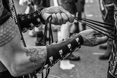 Philadelphia Pride Parade, B&W, 2016 (Alan Barr) Tags: street people blackandwhite bw philadelphia monochrome lumix mono blackwhite candid streetphotography pride panasonic sp streetphoto gaypride 2016 gx8