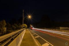 It's a long walk home (pcara22) Tags: longexposure night nikon bridges melbourne lighttrails roads