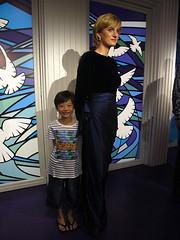 Madame Tussauds of Singapore. Princess Diana of Wales. (cpark188) Tags: photography outdoor waxmuseum sentosa touristspot madametussauds placeofinterest singaporewaxmuseum