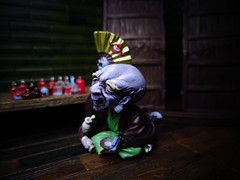 Nurarihyon (ridureyu1) Tags: toy toys actionfigure ghost goblin demon kitaro kaiyodo netsuke furuta youkai yokai toyphotography monogatari japanesefolklore jfigure japanesemythology nurarihyon hyakki hyakkiyako nightparadeofahundreddemons sonycybershotsonycybershotdscw690 kiitaro hyakkiyago hyakkiyagyo