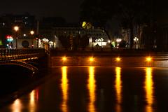 Crue de la Seine 2016 - Paris, Pont d'Arcole (EclairagePublic.eu) Tags: paris seine flooding eau flood lumire berge quai inondation lampadaire naturelle catastrophe crue luminaire candlabre