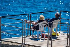 Piece (fabioseda) Tags: ocean sea vacation people seascape sol praia beach relax mar italia waves peace natureza paisagem puglia sul turism 500px santacesareaterme