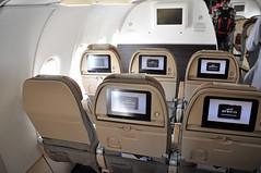 [09:07] ..ETIHAD A321 Economy Class. (A380spotter) Tags: flight31052016ey0393auhdoh14a0037 cabin economy seats seating seatback seatbacks inflightentertainmentsystem ifs airbus a321 200 sharklets sharklets sharklet sharklet 200sl a321ceo currentengineoption wingtipdevices wingtipdevice winglets a6aee  etihad etihadairways etd ey ey0393 auhdoh  hamadinternationalairport hia othh doh standa3  doha   dawlatqaar stateofqatar