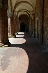 DSC_4866 (aktarian) Tags: bologna italy italija italia shadows sence shadowplay santuariodisantostefano arkade arcade arcades