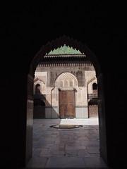 Fes El Bali Morocco-Medersa Bou Inania.5-2016 (Julia Kostecka) Tags: morocco fes madrasa medersa feselbali medersaelattarine