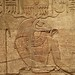 Closeup of relief depicting the ram-headed Amun-re on the Shrine of the 25th dynasty pharaoh and Kushite King Taharqa  Egypt 7th century BCE