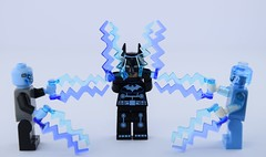 Electro party (Alex THELEGOFAN) Tags: lego super heroes the ultimate spider man polybag batman electro thunder suit