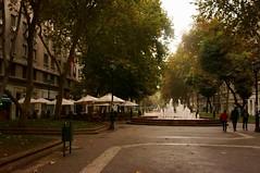 Paseo Bulnes (....:::**PaO**:::....) Tags: chile street santiago urban water fuente paseo latinoamerica fontain aga turista turist sombrillas bulnes