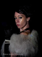 Lydia tattoo princess 4 (Andrew Lancaster photography) Tags: portrait tattoo lady female fur costume princess lydia