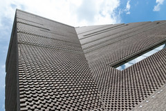 Switch House (jonnydredge) Tags: london art architecture de nikon bricks tatemodern galleries herzog meuron membersday switchhouse moderneccentrics