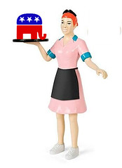 Maine Gov's Wife Takes Job From Woman Who Really Needs It (Mike Licht, NotionsCapital.com) Tags: employment jobs maine waitress gop republicans teaparty lepage paullepage annlepage