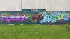 Kame & Tisk... (colourourcity) Tags: kame tisk agony cka tbs ssb ac allcity spawn streetartaustralia streetart graffiti melbourne burncity awesome colourourcity