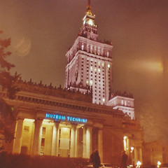 Warschau (Aragon Obscura) Tags: film analog 35mm lomo lomography europe poland diana polen warszawa kulturpalast warschau filmisnotdead dianamini