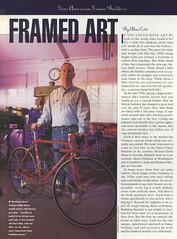 p42 Framed Art - Della Santa (kurtsj00) Tags: santa bike bicycle framedart frame columbine custom della erickson sachs bicycleguide