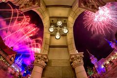 Fireworks Friday - Arches of Wishes (MattStemerman) Tags: nikon fireworks disney disneyworld wishes d750 wdw waltdisneyworld magickingdom fantasyland cinderellacastle