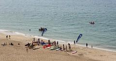 Southbourne Sunday (Jim-Paterson) Tags: sea beach landscape coast waves tide dorset southbourne may2016