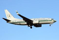 5N-FGT (JBoulin94) Tags: 5nfgt nigeria nigerianairforce air force airforce boeing 737700 bbj bizjet businessjet business jet andrews afb airforcebase adw kadw maryland md john boulin