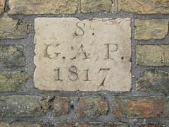 Great St Andrew Parish, 1817 (Simon_K) Tags: cambridge parish marker boundary cambridgeshire eastanglia cambs