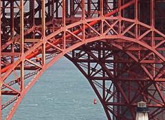 Golden Gate Bridge (al-ien) Tags: goldengatebridge sanfrancisco arch red