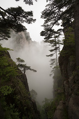 Huangshan (arnd Dewald) Tags: china mist mountain nature berg fog nebel natur    huangshan anhui  arndalarm zhnggu mg508859k7e05co20sh10wh20eklein