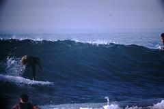 12-1969- Redondo Surf (29) (foundslides) Tags: redondobeach ca calif california analog slide slides irmalouiserudd johnhrudd foundslides kodachrome kodak vintage surfer surfers surfing breakers wave waves sports water ocean sea seasid 1969 1960s transparencies rudd irma wetsuit wet december socal southbaycameraclub south bay southbay usa surfboard