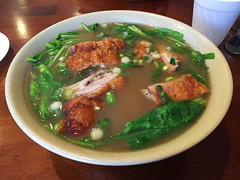 Tasty Hand-Pulled Noodles - Roast Duck Noodle Soup (willy cheesesteak) Tags: food ny nyc newyork newyorkcity midtown midtownwest hellskitchen noodles noodle handpullednoodles tastyhandpullednoodles roastduck roastducknoodlesoup