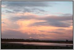 Sunset 28 June (florahaggis) Tags: sky lake water reflections dusk australia victoria greenlake horsham pc3400 wimmera cloudsstormssunsetssunrises