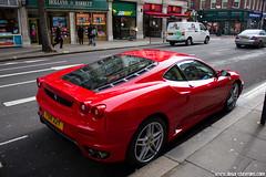 Spotting 2011 - Ferrari F430 (Deux-Chevrons.com) Tags: auto street london car automobile ferrari spot voiture coche londres spotted gt rue luxury supercar luxe spotting f430 ferrarif430 sportcar croise