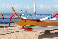 Bateaux, plage de Sanur Bali (GeckoZen) Tags: bali color indonesia bateaux plage couleur sanur