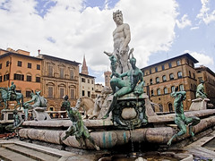 530414624 (Voyages Lambert) Tags: travel sea sky people italy horse men tower art monument water fountain statue metal architecture bronze outdoors design florence pond god roman body palace spray firenza della fontana cultures vacations renaissance townsquare florenceitaly craved romeitaly signoria uffizimuseum traveldestinations famousplace builtstructure stonematerial humanmuscle geographicallocations bronzealloy neptunedeity