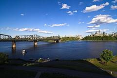 Ontario Side (kevin.bates4@yahoo.ca) Tags: bridge river ottawa parliament alexandra